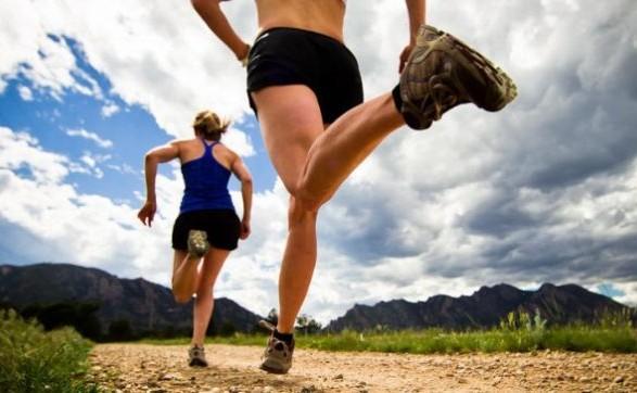 Во время бега температура тела человека поднимается выше 38 градусов по Цельсию