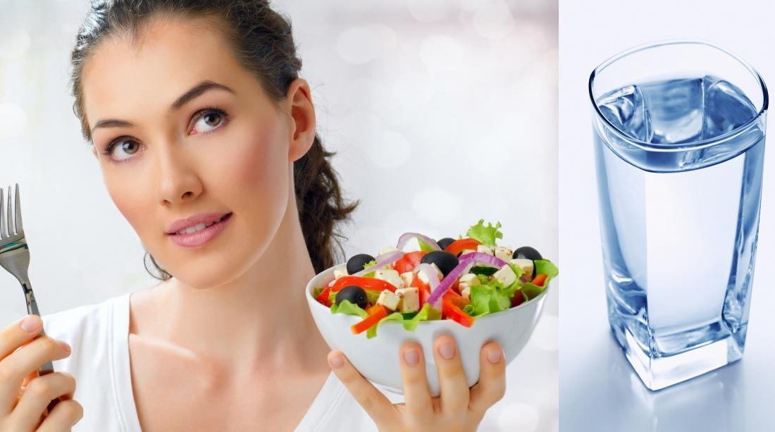 Нужно ли пить воду во время еды