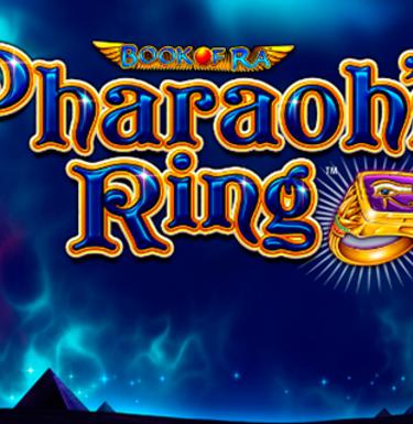 Основные символы и игра на риск в Pharaohs Ring из клуба Вулкан