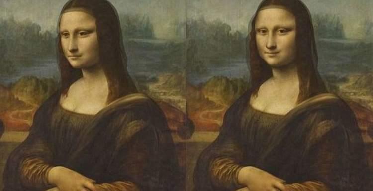 Картины Леонардо да Винчи Крещение и Джоконда