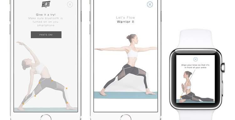 Умные лосины для йоги могут заменить инструктора (видео)