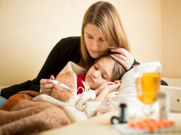 В Киеве за неделю гриппом и ОРВИ заболело более 6,5 тыс. детей