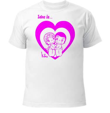 Романтические футболки
