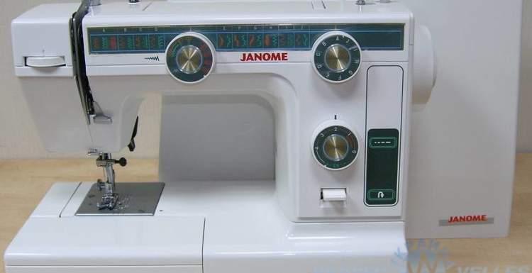 Швейные машинки от производителя Janome.